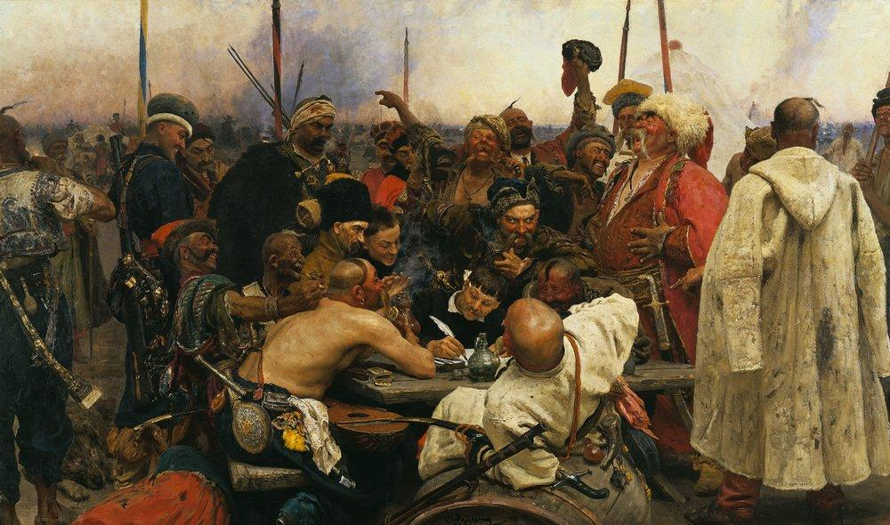 Ilya Repin Reply of the Zaporozhian Cossacks