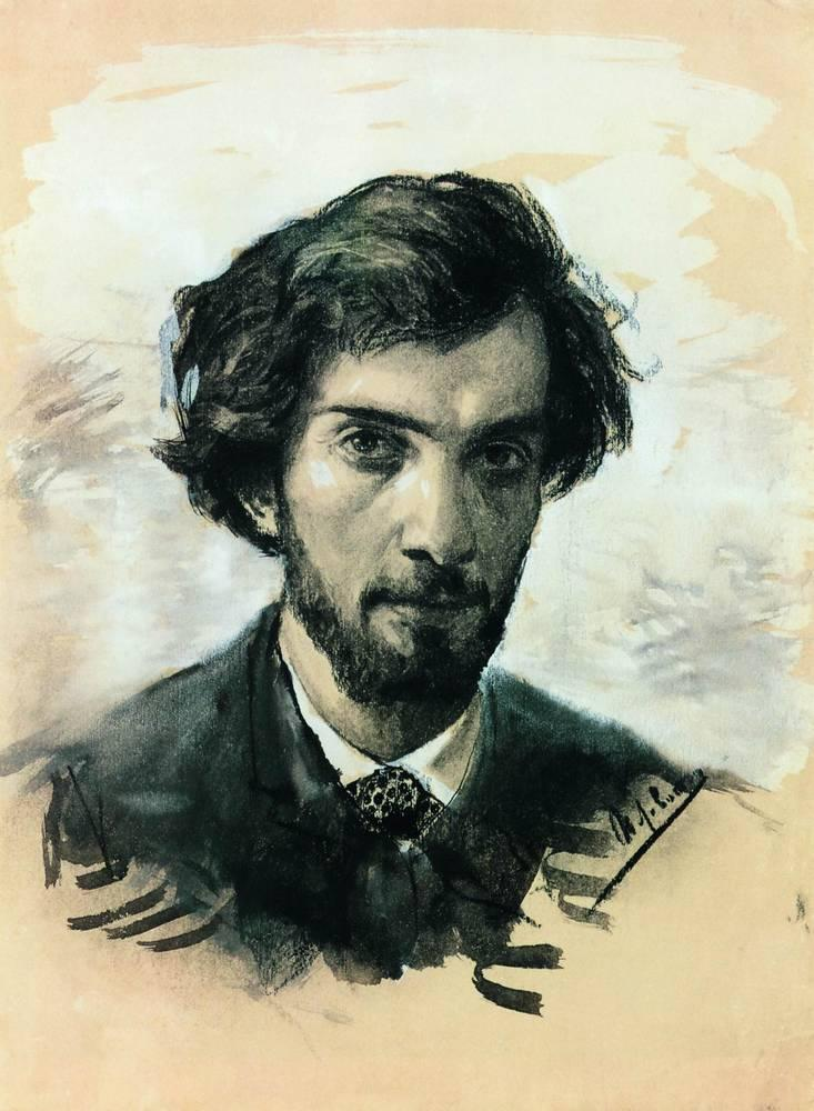 Isaak Levitan - Self-portrait