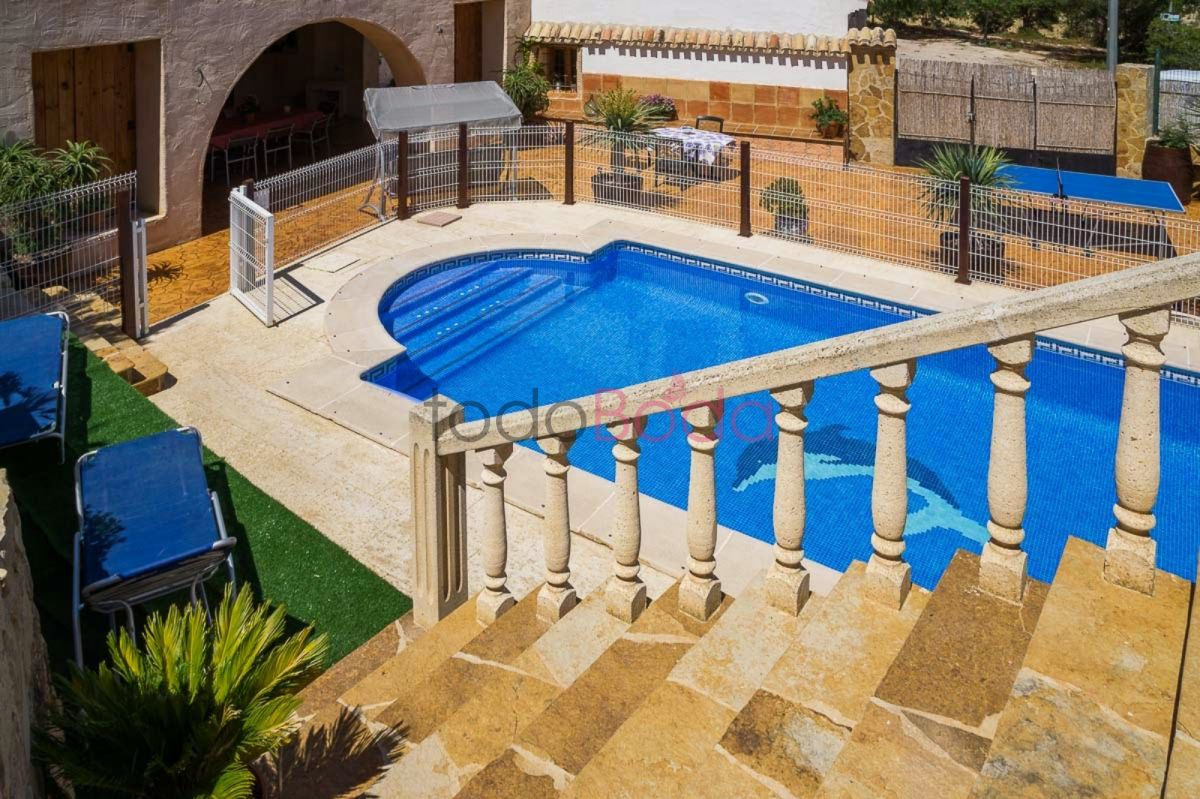 Casas Rurales En Alicante Con Piscina Casas Rurales Cinco Soles Con Campo De Paintball