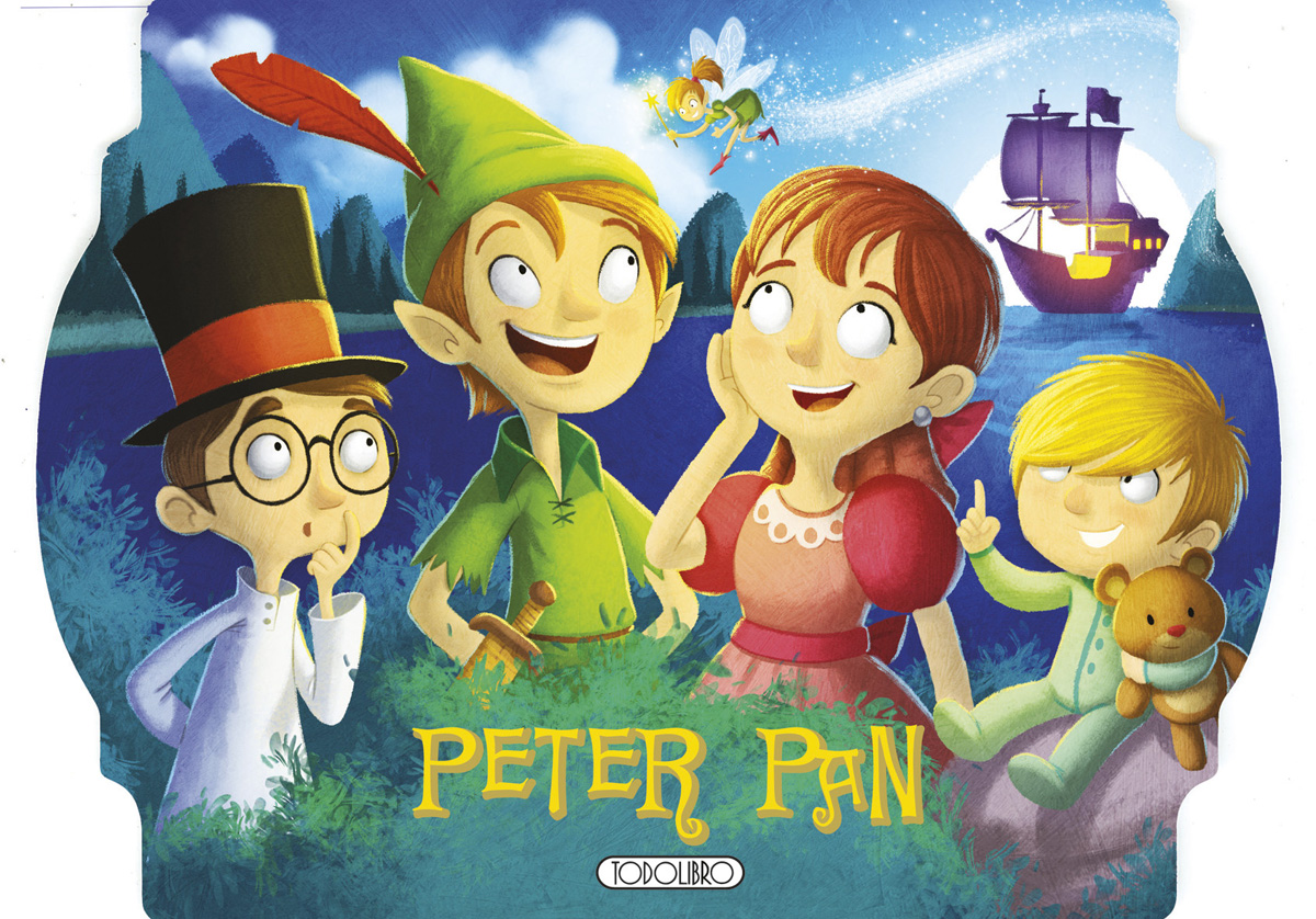 Peter Pan Libro Original Libros Con Pop Up Todolibro Castellano Todo Libro
