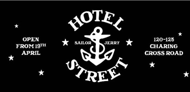 Hotel Street - a new store and gig venue by Sailor Jerry - £3 Tickets