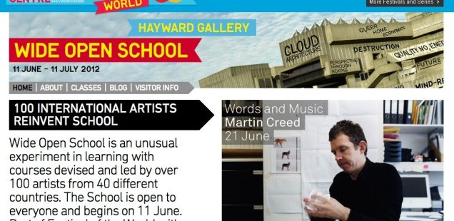 Bad Education: Wide Open School at Hayward Gallery