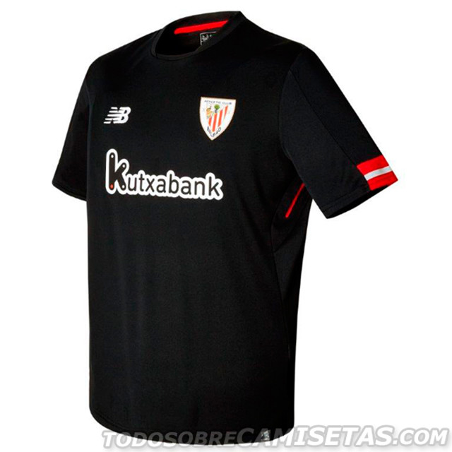 Club Del Libro Camisetas New Balance De Athletic Club 2017-18 - Todo