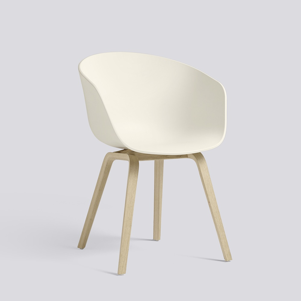 Hay Stuhl Hay About A Chair Aac22 Cream White