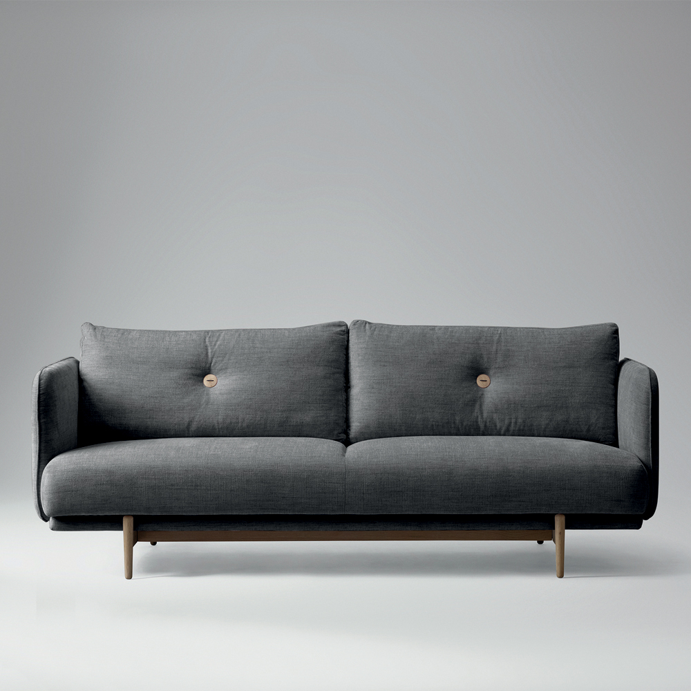 Dänischer Sessel Klassiker Won Hold Sofa Grau