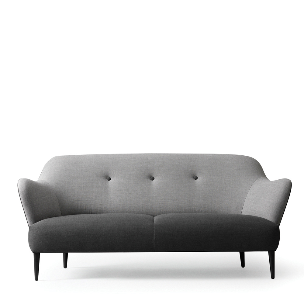 Sofa Dunkelgrau Won Retro Sofa Grau