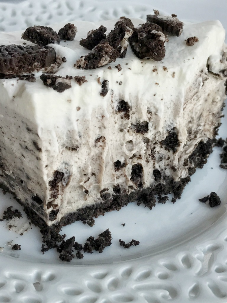 No Bake Oreo Kuchen No Bake Triple Layer Oreo Pudding Pie