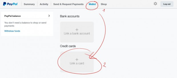 add-visa-card-to-verify-paypal-wallet