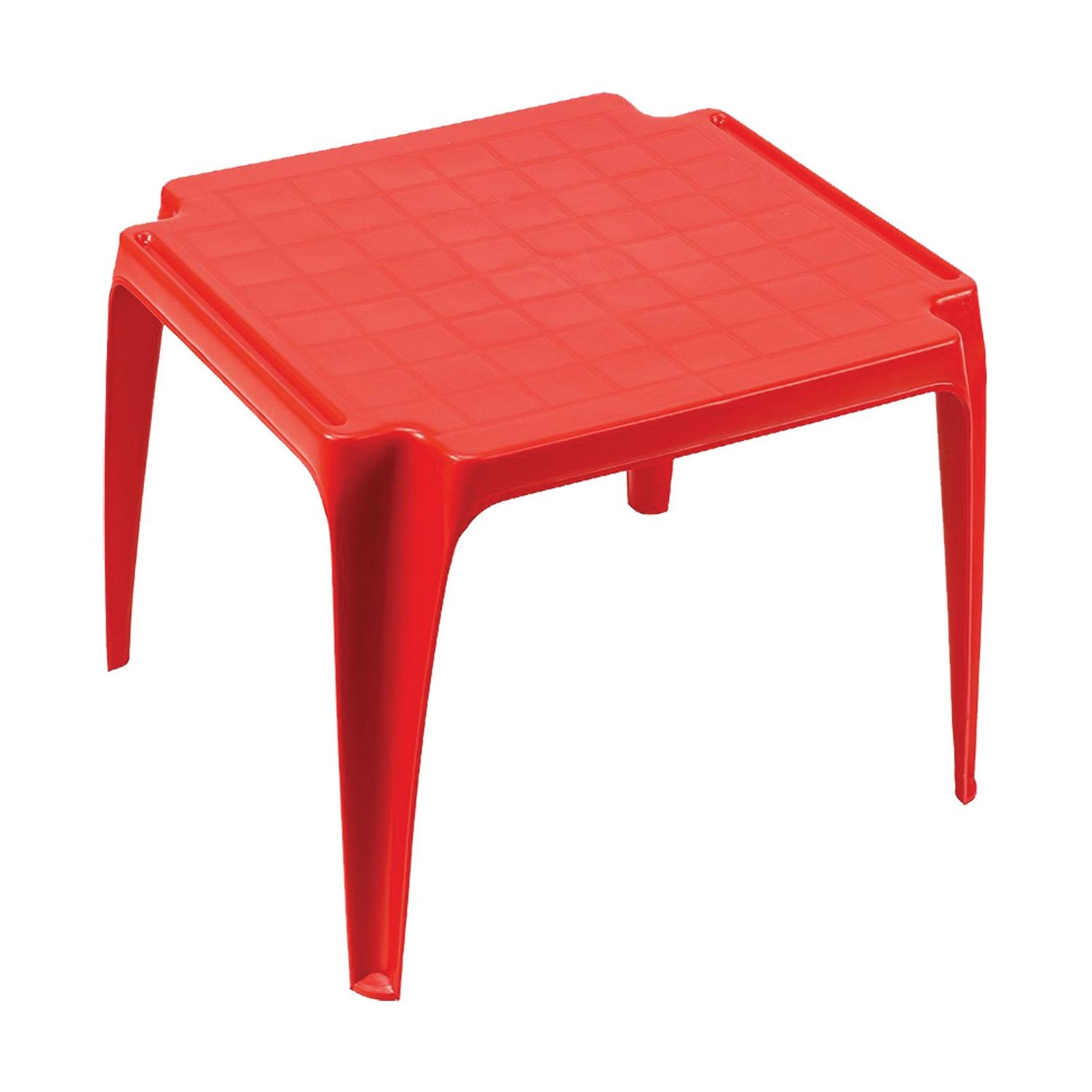 Table De Jardin Rouge Table De Jardin Enfant Baby Rouge Toilinux