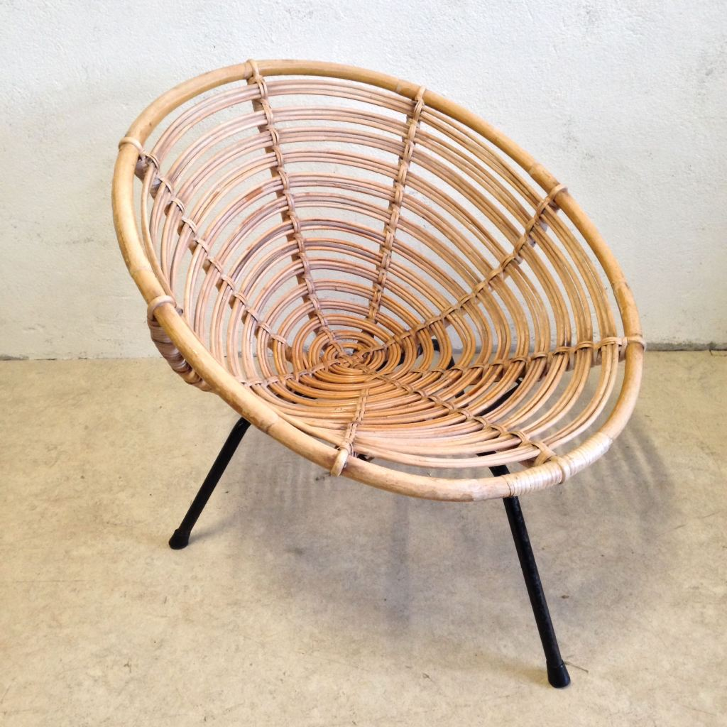 Rattan Lounge Chair Tasteful Objects Toinc