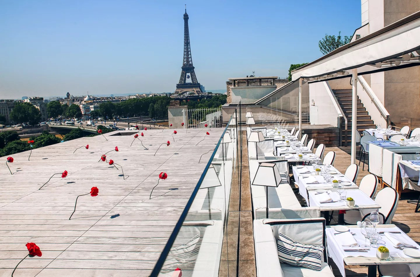 Toit Terrasse Cocktail Paris Maison Blanche | Rooftop à Réserver Et Privatiser