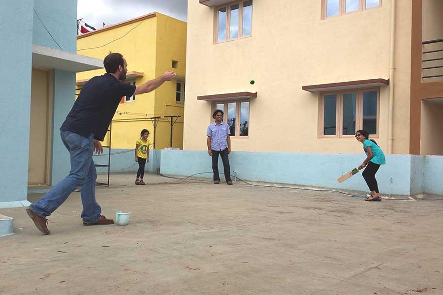 crickett-in-india