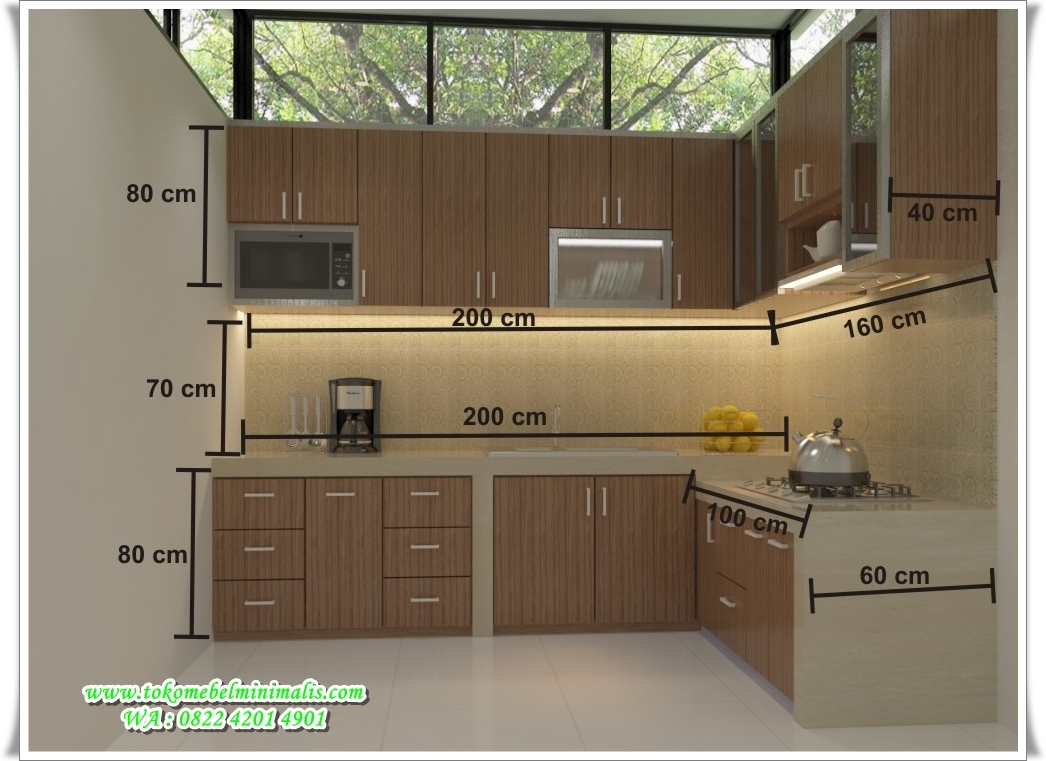 Design Kitchen Set Minimalis Modern Kitchen Set Minimalis Murah Toko Mebel Minimalis Toko Furniture