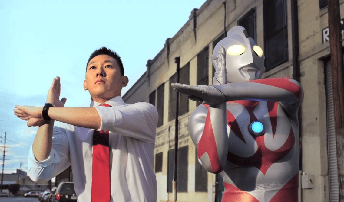Ultraman Neos Appears In Chinese State Farm Commercial
