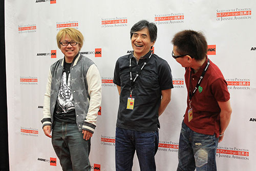 Kazuki Nakashima Talks Fourze at Anime Expo 2014 Press Conference