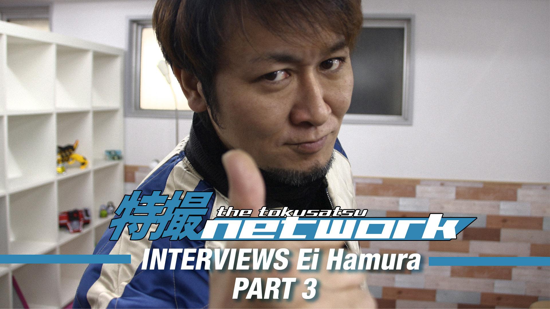 VIDEO: The Tokusatsu Network Interviews Dairanger Actor Ei Hamura: Part 3