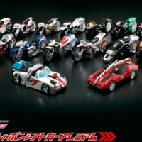 Premium Bandai Kamen Rider Drive Signal Legend Bike Set Announced