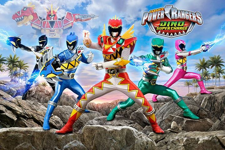 Power Rangers Dino Super Charge Announced