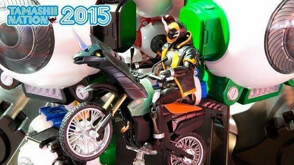 Tamashii Nations 2015: Kamen Rider Roundup