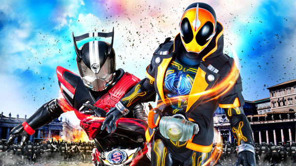 Kamen Rider Super Movie War Genesis Takes 4th Place in Theaters