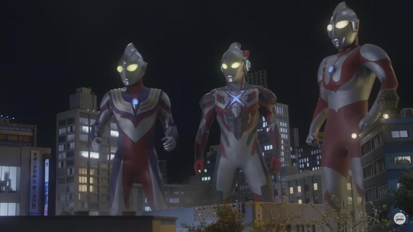 """Ultraman X"" Movie Comes in 10th on Opening Weekend"