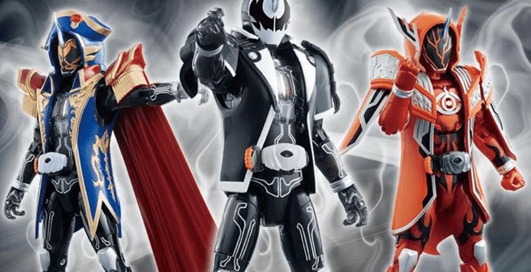 GCPB02 Kamen Rider Dark Ghost & Napoleon & Darwin Set Announced