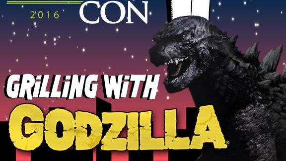 Alien Con Hosting Grilling With Godzilla Event
