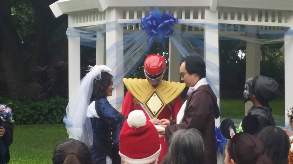 The Tokusatsu Network's Red Ranger Marries Couple