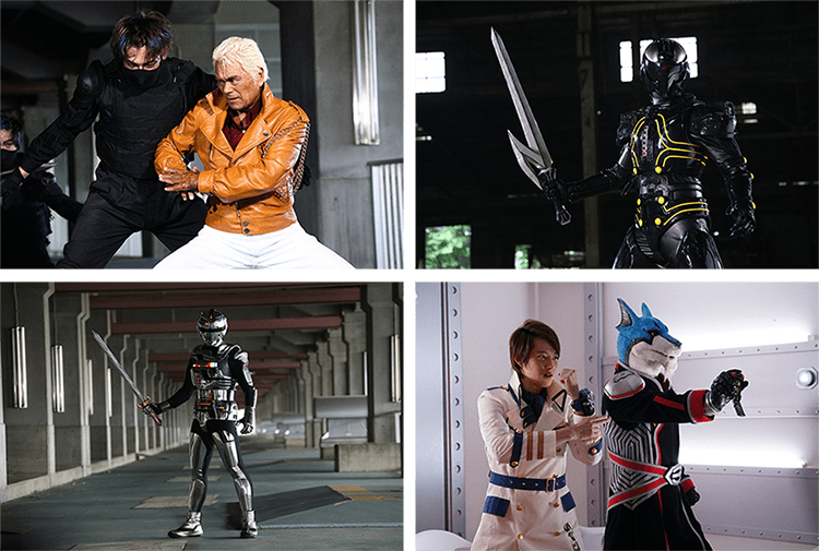 More Cast Details for Gavan / Dekaranger Space Squad Project