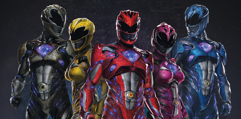 BOOM! Studios Announces 2017 Power Rangers Movie Graphic Novel