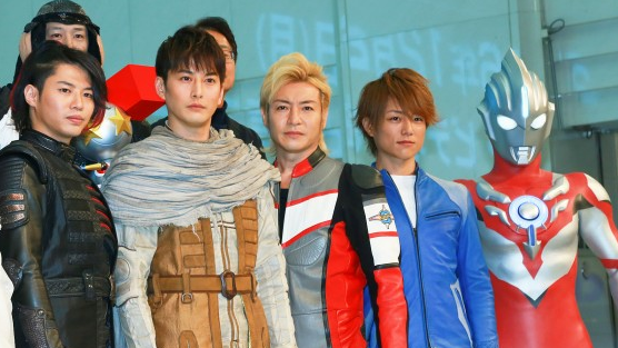 Ultraman Orb the Origin Saga Cast Share Nostalgic Moment