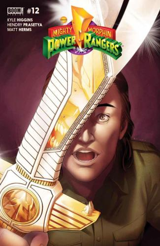 MMPR #12 - Main Cover by Jamal Campbell