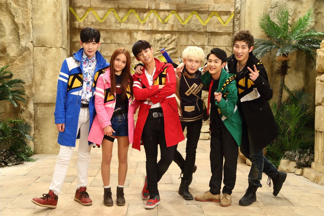 Various K-Pop Stars Feature in Dino Force Brave/Kyoryuger Brave Cast