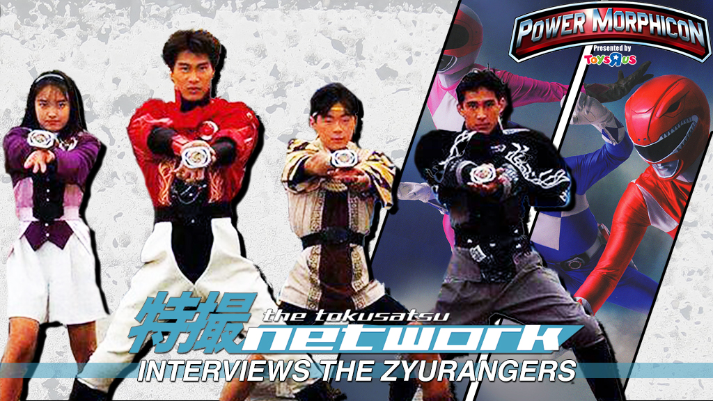 The Tokusatsu Network Interviews Cast of Zyuranger