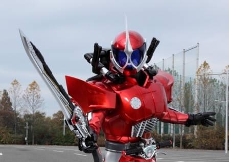 Hirofumi Fukuzawa as Kamen Rider Accel