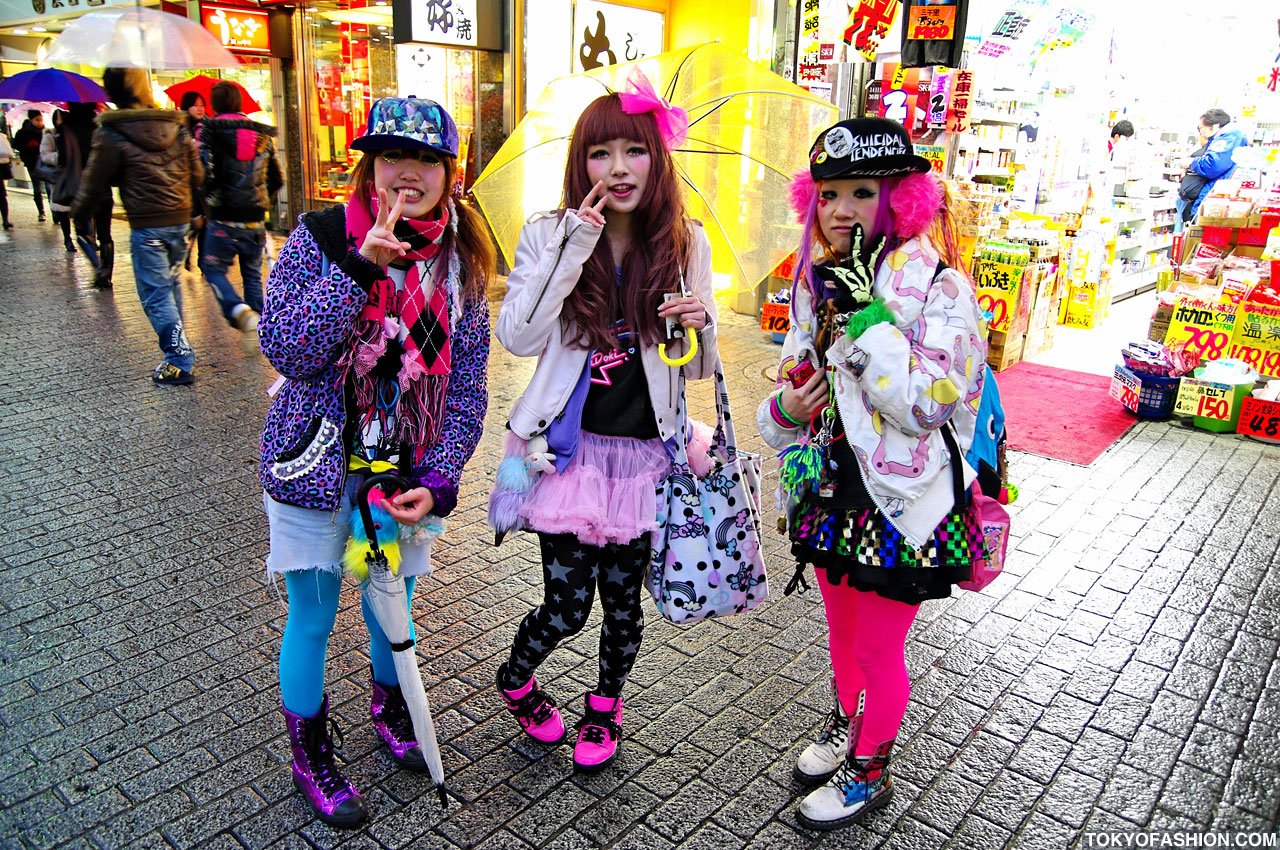 Decora Japan Cute Japanese Girls In 6 Dokidoki And Galaxxxy