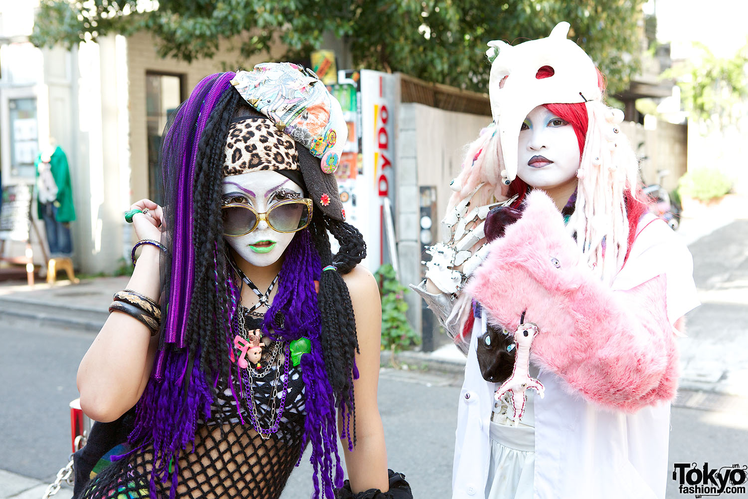 Decora Japan Japanese Shironuri Quotwhite Face Monster Party Quot In Harajuku