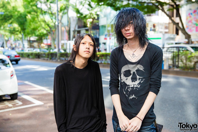Harajuku Guys Black Streetwear Styles W Y By Alexander