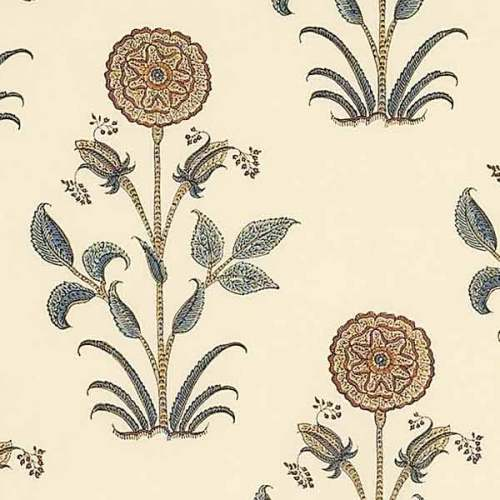 Aleta Cream Hibiscus Flower Buta