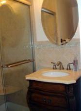 master bath from rental listing