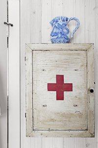 Red Cross Decor