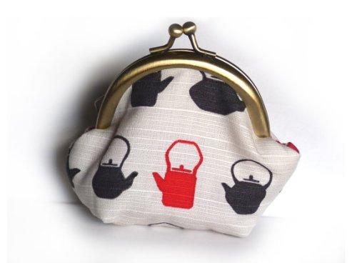 cheeky leopard teapot coin purse