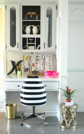 LGN kitchen desk after