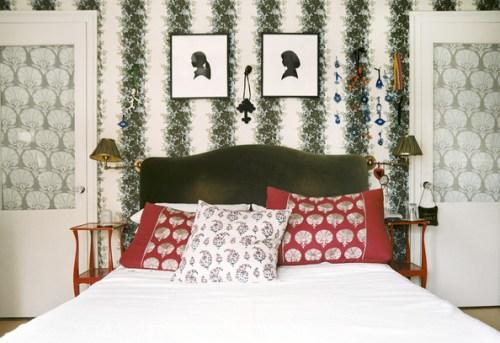 Carolina Irving bedroom Lonny