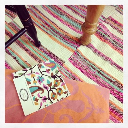 Raoul Mally Skok and Zara home rug