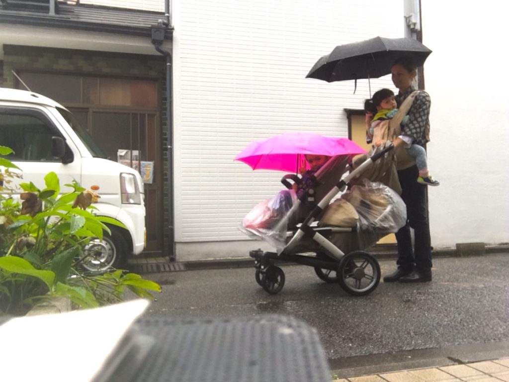 The Joolz Stroller Joolz Stroller Test Drive In Snow Tokyo Urban Baby