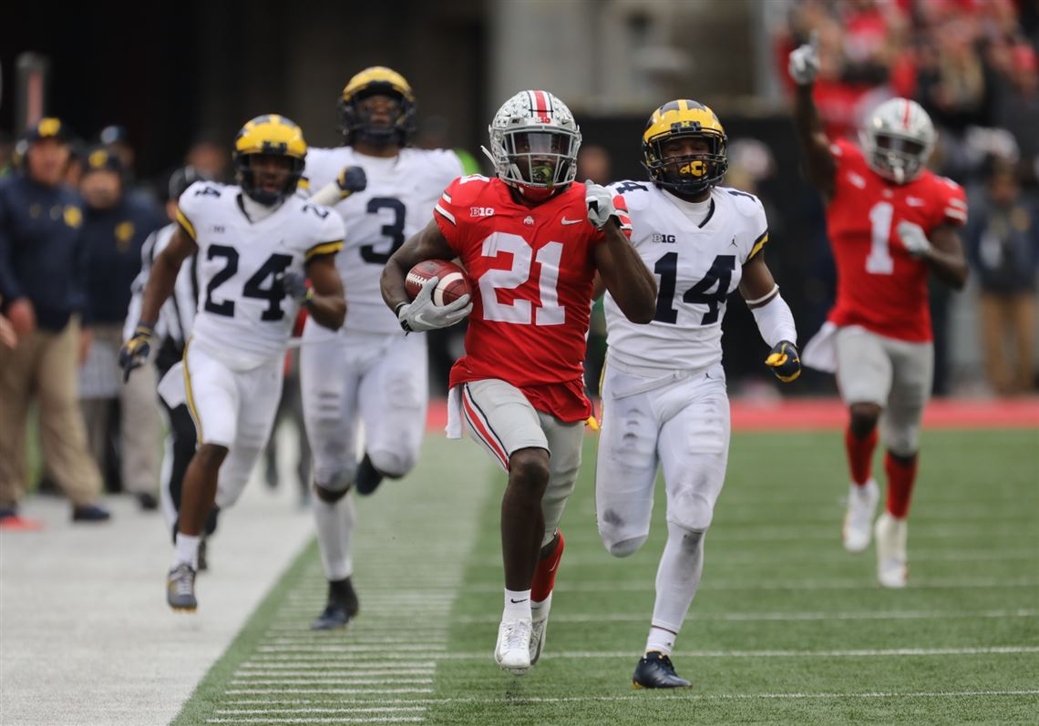Ohio State Score Ohio State Blows Out Michigan Behind Dominant 2nd Half Toledo Blade