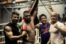 ورزشکار مبارزات آزاد افغان حریف امریکاییاش را شکست داد