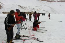 برگزاری هشتمین دور رقابتهای اسکی در بامیان