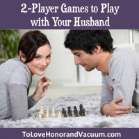 Two Player Games to Play with Your Husband